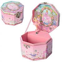 Шкатулка заводная UK-039 музыкальная 13х8 см,Музыкальная шкатулка для детей, Музыкальная шкатулка заводная,