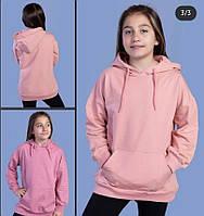 """Батник-худі підлітковий з капюшоном на дівчинку віком 6-14 років (7 цв) """"MARI"""" купити оптом в Одесі на 7км"""