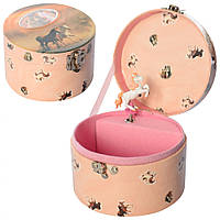 Шкатулка заводная HOR-038 музыкальная 13х8 см,Музыкальная шкатулка для детей, Музыкальная шкатулка заводная,