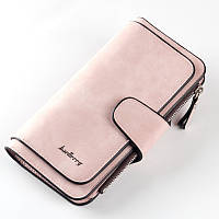 Жіночий гаманець, клатч Baellerry Forever, балери. Ніжно-рожевий (пудровий). Замша PU, фото 2