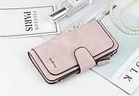 Жіночий гаманець, клатч Baellerry Forever, балери. Ніжно-рожевий (пудровий). Замша PU, фото 8