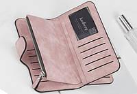 Жіночий гаманець, клатч Baellerry Forever, балери. Ніжно-рожевий (пудровий). Замша PU, фото 9