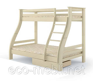 "Двоповерхове ліжко MebiGrand ""Аляска"" Сосна,1,4х0,9 /2,0/1,9"