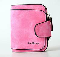 Жіночий гаманець, клатч Baellerry Forever Mini, балери. Яскраво рожевий. Замша PU, фото 3