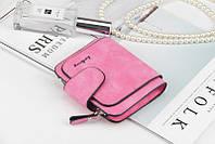 Жіночий гаманець, клатч Baellerry Forever Mini, балери. Яскраво рожевий. Замша PU, фото 4