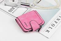 Жіночий гаманець, клатч Baellerry Forever Mini, балери. Яскраво рожевий. Замша PU, фото 6