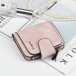 Жіночий гаманець, клатч Baellerry Forever Mini, балери. Пудровий. Замша PU