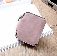 Жіночий гаманець, клатч Baellerry Forever Mini, балери. Пудровий. Замша PU, фото 2