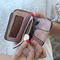 Жіночий гаманець, клатч Baellerry Forever Mini, балери. Пудровий. Замша PU, фото 6