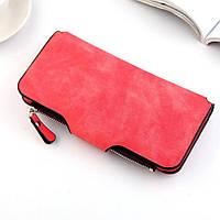 Жіночий гаманець, клатч Baellerry Forever, балери. Червоний. Замша, фото 8