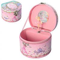 Шкатулка заводная с зеркалом UK-016 музыкальная 13х8 см,Музыкальная шкатулка для детей, Музыкальная шкатулка