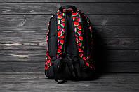 Яркий, стильный рюкзак с принтом Арбуз. Для путешествий, тренировок, учебы.  Рюкзак достаточно вместительный., фото 6
