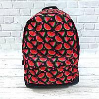 Яркий, стильный рюкзак с принтом Арбуз. Для путешествий, тренировок, учебы.  Рюкзак достаточно вместительный., фото 7