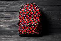 Яркий, стильный рюкзак с принтом Арбуз. Для путешествий, тренировок, учебы.  Рюкзак достаточно вместительный., фото 8