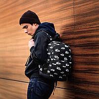 Стильний рюкзак з принтом кросівок Nike, пума, New Balance. Для подорожей, тренувань, навчання., фото 9