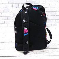 Стильний рюкзак з принтом Fresh Brains. Для подорожей, тренувань, навчання, фото 2