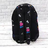 Стильний рюкзак з принтом Fresh Brains. Для подорожей, тренувань, навчання, фото 3