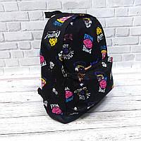 Стильний рюкзак з принтом Fresh Brains. Для подорожей, тренувань, навчання, фото 4