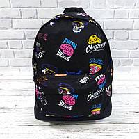 Стильный рюкзак с принтом Fresh Brains. Для путешествий, тренировок, учебы, фото 7