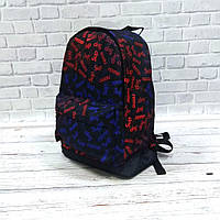 Молодежный рюкзак с принтом Суприм, Supreme. Для путешествий, тренировок, учебы, фото 3