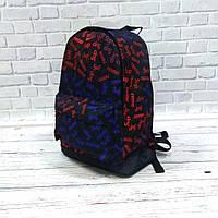 Молодіжний рюкзак з принтом Супрім, Supreme. Для подорожей, тренувань, навчання, фото 3