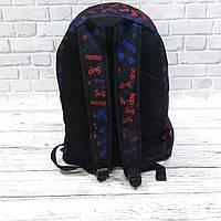 Молодіжний рюкзак з принтом Супрім, Supreme. Для подорожей, тренувань, навчання, фото 4
