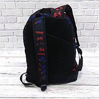 Молодіжний рюкзак з принтом Супрім, Supreme. Для подорожей, тренувань, навчання, фото 5