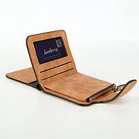 Жіночий гаманець, клатч Baellerry Forever Mini, балери. Коричневий. Замша PU, фото 4