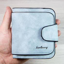 Жіночий гаманець, клатч Baellerry Forever Mini, балери. Блакитний. Замша PU