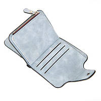 Жіночий гаманець, клатч Baellerry Forever Mini, балери. Блакитний. Замша PU, фото 2
