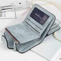 Жіночий гаманець, клатч Baellerry Forever Mini, балери. Блакитний. Замша PU, фото 4
