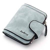 Жіночий гаманець, клатч Baellerry Forever Mini, балери. Блакитний. Замша PU, фото 7