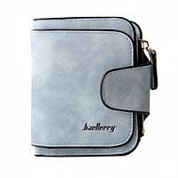 Жіночий гаманець, клатч Baellerry Forever Mini, балери. Блакитний. Замша PU, фото 8