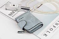 Жіночий гаманець, клатч Baellerry Forever Mini, балери. Блакитний. Замша PU, фото 9