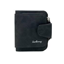 Жіночий гаманець, клатч Baellerry Forever Mini, балери. Чорний. Замша PU