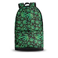 Молодежный рюкзак с принтом Конопля, Cannabis. Для путешествий, тренировок, учебы, фото 8