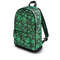Молодежный рюкзак с принтом Конопля, Cannabis. Для путешествий, тренировок, учебы, фото 9