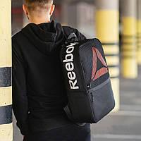 Черный рюкзак рибок, Reebok. Для учебы, тренировок!, фото 3