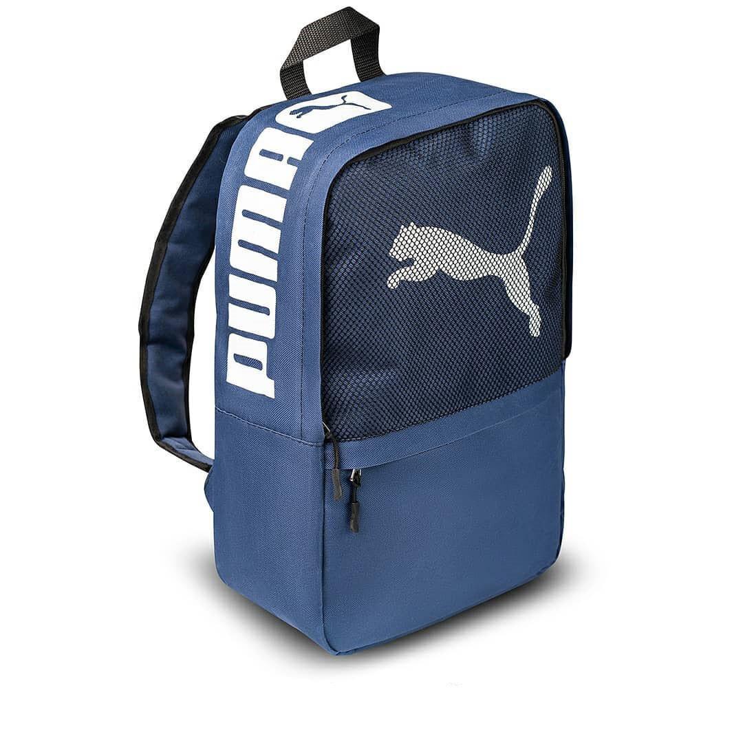 Синий рюкзак пума, Puma. Для учебы, тренировок!