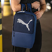Синий рюкзак пума, Puma. Для учебы, тренировок!, фото 3