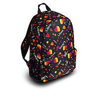 Стильний рюкзак з принтом Likee. Для подорожей, тренувань, навчання, фото 5