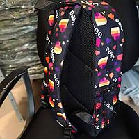 Стильный рюкзак с принтом Likee. Для путешествий, тренировок, учебы, фото 7