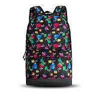Стильный рюкзак с принтом TikTok, тик ток. Для путешествий, тренировок, учебы, фото 2