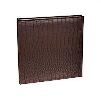 Фотоальбом chako самоклеющийся 60 магнитных страниц (pu-9880d brown gekko 295x325 Самокл./60)