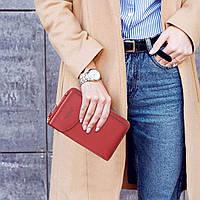 Женский кошелек-клатч, сумочка Baellerry Forever. Красный, фото 5