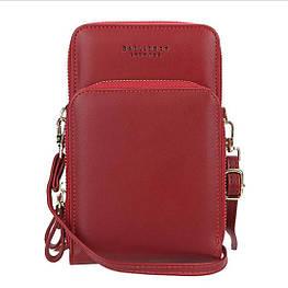 Женский кошелек-клатч, сумочка Baellerry Show You. Красный