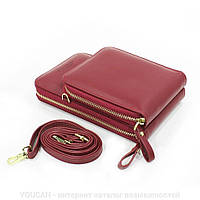 Жіночий гаманець-клатч, сумочка Baellerry Forever. Чорна, фото 3