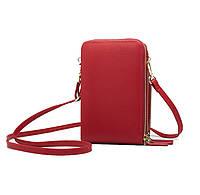 Жіночий гаманець-клатч, сумочка Baellerry Forever. Чорна, фото 4