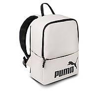 Женский стильный рюкзак Puma, пума. Белый. Кожзам, фото 3