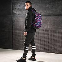 Яркий рюкзак с принтом Конопля, цветной. Для путешествий, тренировок, учебы, фото 4